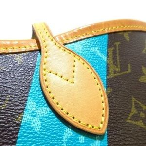 Louis Vuitton Bags - 💎 LIMITED EDITION💎 Turquoise V Neverfull MM